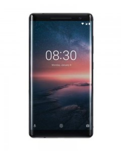 Nokia 8 Sirocco Single Sim | 6 GB | 128GB | Black | Renewed