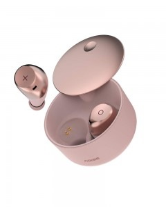 Noise Shots XO Full Touch Control True Wireless Earphones with Qualcomm aptX Technology (Rose Gold)