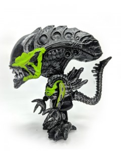 Comet Busters Alien Action Figures