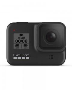 GoPro HERO 8 Black Waterproof Action Camera with Touch Screen 4K Ultra HD Video 12MP Photos 1080p Live Streaming Stabilization Hyper Smooth 2. 0