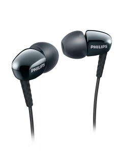 Philips 3905BK/00 Rich Bass In-Ear Headphones With Mic-Black