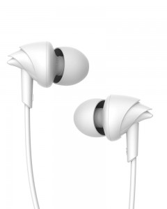 Boat BassHeads 100 Hawk Inspired Earphones with Mic | White