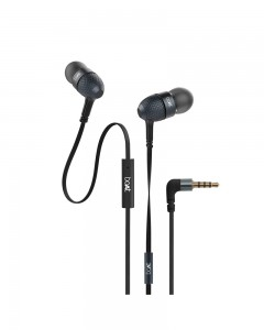 Boat Bass Heads 220 | In-Ear Headphones with Mic | Black