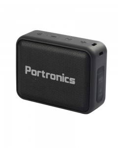 Portronics Dynamo Bluetooth 5.0 Portable Stereo Speaker (Black)