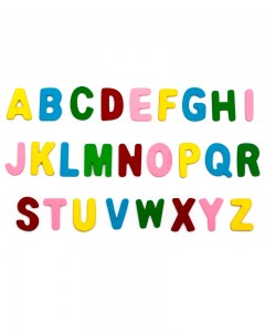 Comet Busters 26 Piece Set Wooden Alphabet Letters Kids Learning Toy