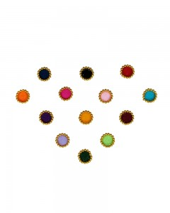 Comet Busters Beautiful Multicolor Bindi