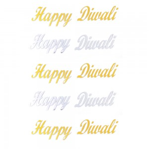 Comet Busters Happy Diwali Gift Stickers for Envelopes, Gift Bags, Diwali Decorations (STK002)