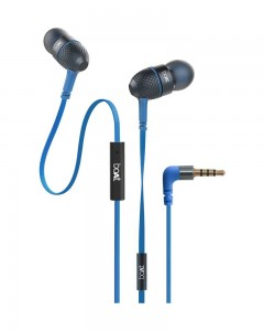 Boat Bass Heads 220 | In-Ear Headphones with Mic | Blue