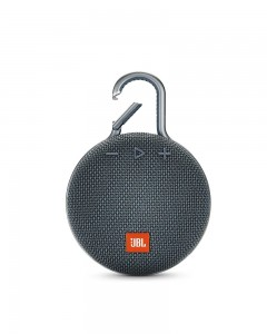 JBL Clip 3 Ultra-Portable Wireless Bluetooth Speaker with Mic | Blue