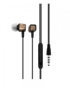 Portronics POR-883 Conch 206 in-Ear Wired Earphone with 3.5mm Audio Jack and Mic | Brown