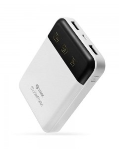 Zoook Premium Ultra Fast Charging Dual USB Powerbank MobileMate Light Weight for Mobile Speaker