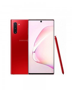 Samsung Galaxy Note 10 | Aura Red | 8GB RAM | 256GB | Renewed