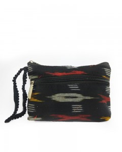 Comet Busters Printed Multipurpose Soft Cotton Black Pouch Bag