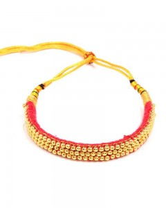 Comet Busters Artificial Gold Plated Traditional Thushi Choker
