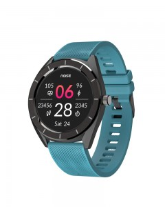 Noise NoiseFit Endure Smart Watch with 100+ Cloud Based Watch Faces & 20 Day Battery Life (Teal Green)