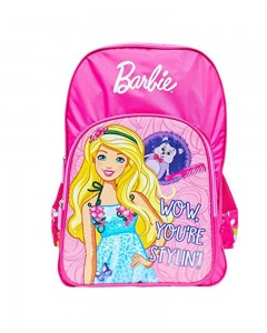 Barbie WOW Pink 18' ' School Bag (Pink, 35 L)