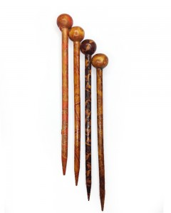 Comet Busters Wooden Juda Pin/Juda Stick For Women (Set of 4)