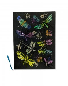 Comet Busters Printed Black Notebook Ruled Diary