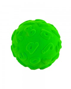 Rubbabu - Green Alphalearn Ball Lowercase (Large)
