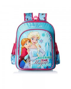 Disney Princess Blue School Bag for Children of Age Group 8 + years | Size 18 inch