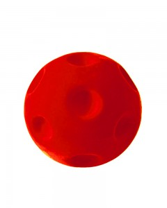Rubbabu - Red Crater Ball (Medium)