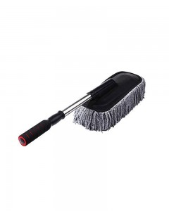 Comet Busters Microfibre Car Cleaning Wash Mop Brush & Duster (Grey)