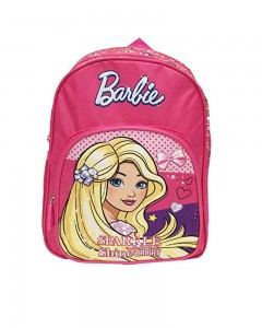 Barbie Sparkle and Shine Pink 12' ' School Bag (Pink, 10 L)