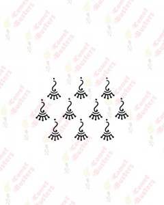 Comet Busters Traditional Black Bindi
