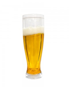 Comet Busters Frosty Mug Fake Beer Glass (400 ML)