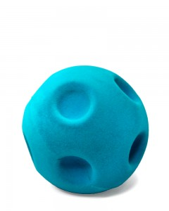 Rubbabu - Turquoise Blue Crater Ball (Large)