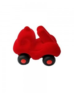 Rubbabu - Fireman Rubba Engine Micro (Red)