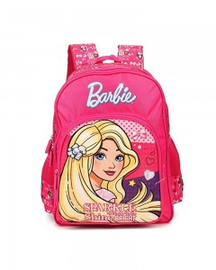 Barbie Sparkle and Shine Pink 18' ' School Bag (Pink, 35 L)