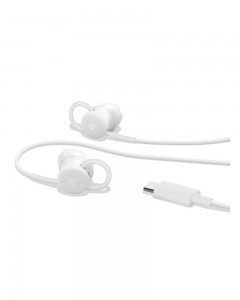 Google Pixel USB-C Earbuds Wired Headset with Mic    White, In the Ear