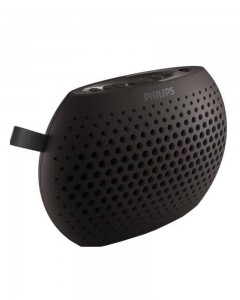 Philips SBM100GRY/00 1.5 W Portable Bluetooth Speaker | Dark Grey, Mono Channel