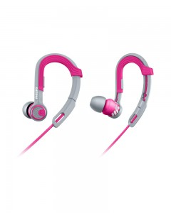 Philips SHQ3300PK/00 ActionFit Sports In-Ear Headphones | Pink