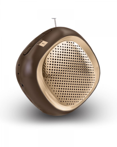 iBall Music Cube BT20 |  Bluetooth Speaker | Brown
