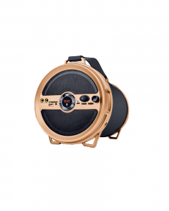 iBall Karaoke Barrel V2.0 |wireless Speaker| Brown