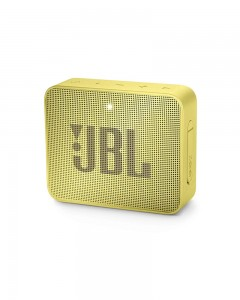JBL Go 2 Portable Bluetooth Waterproof Speaker | Yellow