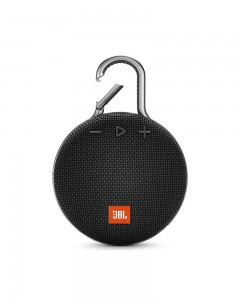 JBL Clip 3 Ultra-Portable Wireless Bluetooth Speaker with Mic | Black
