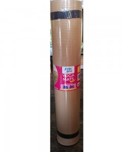 Funjoy Yoga Mat | Light Brown | 4 mm