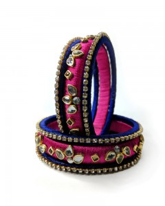 Comet Busters Indian Colorful Bangle Set