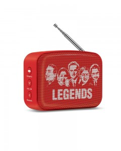 Saregama Carvaan | Mini | 2.0 Bluetooth Speaker | Sunset Red
