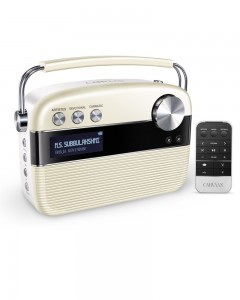 Saregama Carvaan With Remote| Porcelain-White