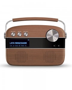 Saregama Carvaan With Remote | Oakwood Brown