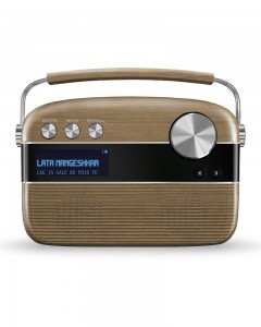 Saregama Carvaan With Remote| Walnut Brown
