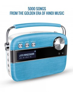 Saregama Carvaan With Remote| Electric Blue