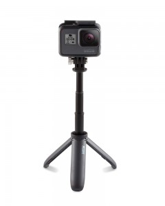 GoPro AFTTM-001 Shorty Mini Extension Pole with Tripod (Black)