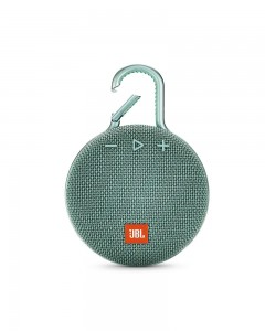 JBL Clip 3 Ultra-Portable Wireless Bluetooth Speaker with Mic | Teal