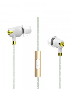Boat Nirvaanaa Bliss In-Ear earphone with Mic | Glazy White